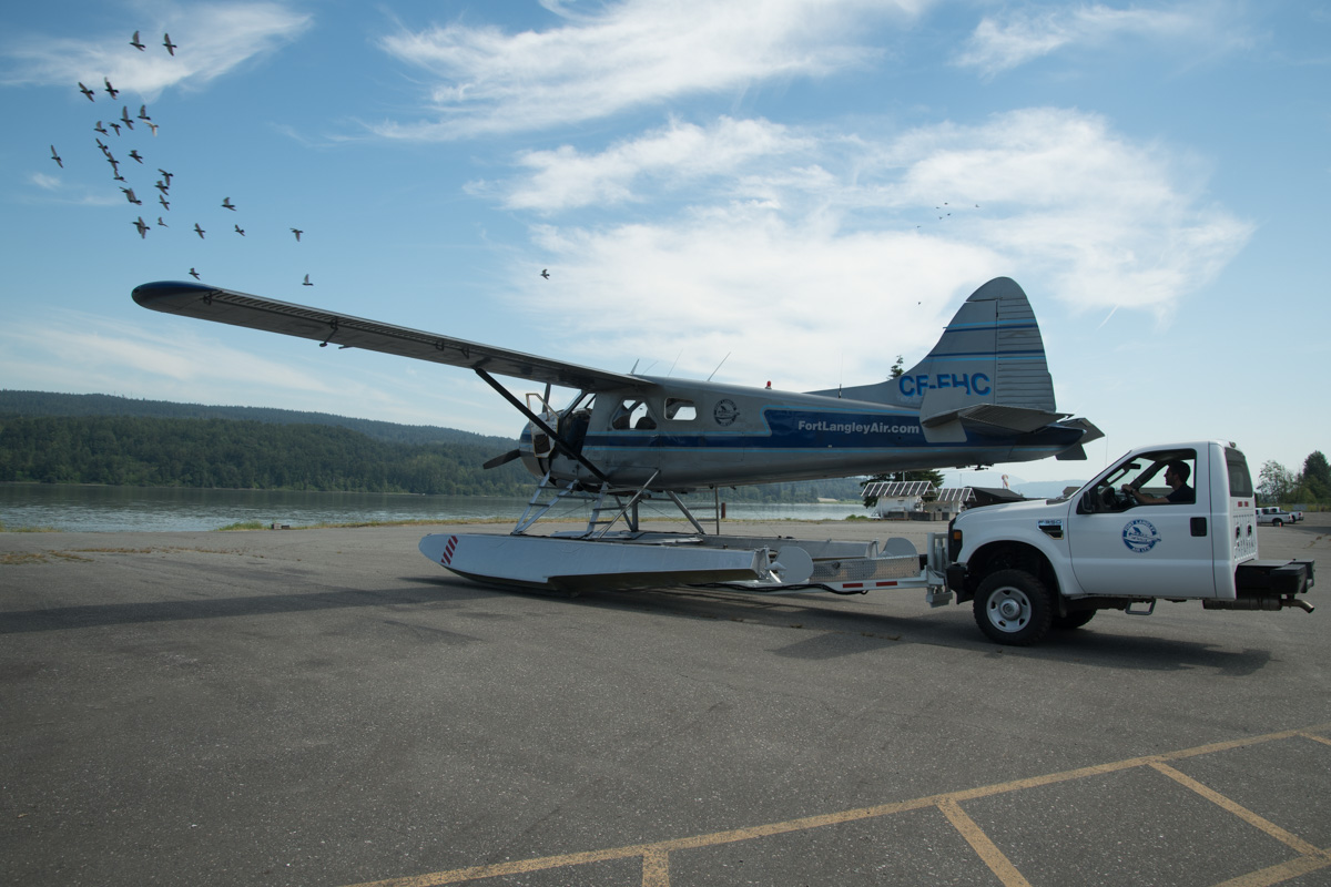 floatplane, fort langley air