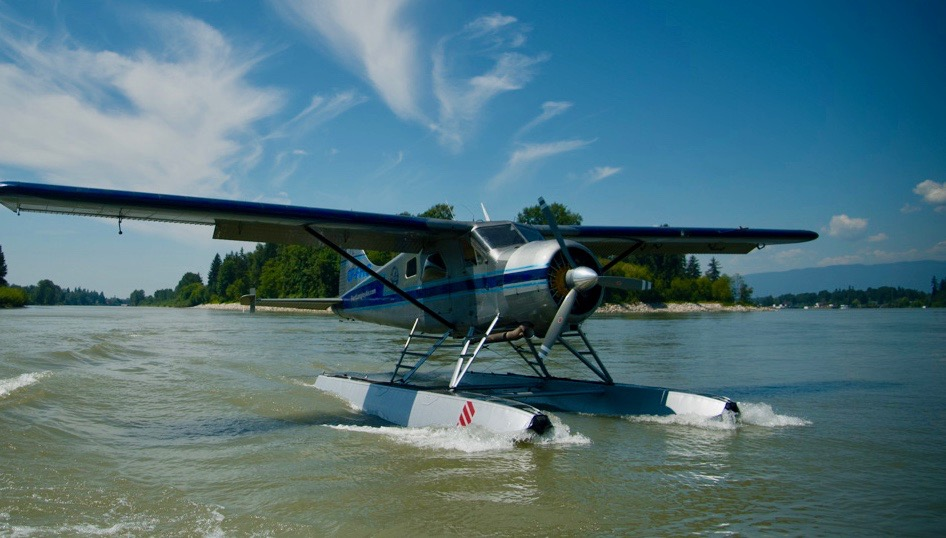 private charter plane, fort langley air