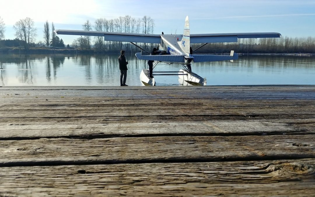 My First Flight: What is it like to fly in a float plane?