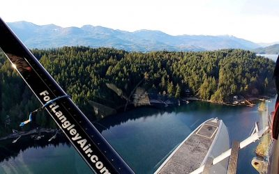 Exploring Rainbow Falls BC By Float Plane