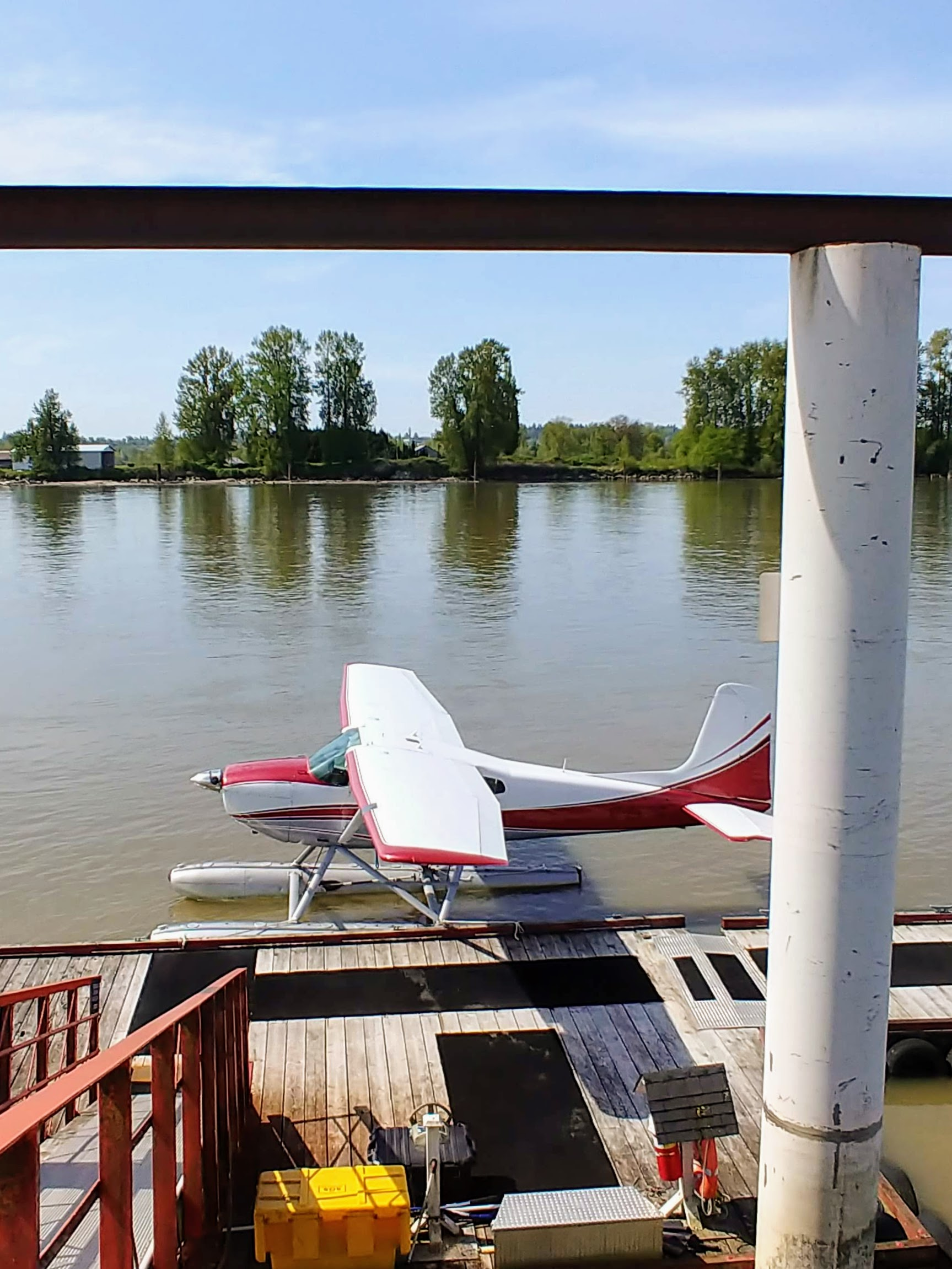 sea plane, fort langley air