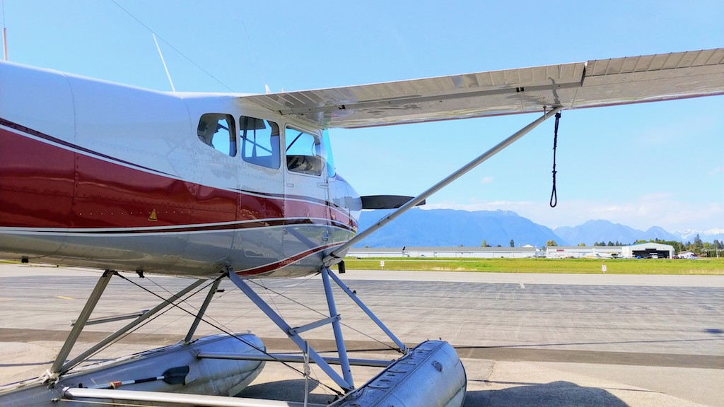 fort langley air, sea plane